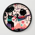 Music for the eyes Wall Clock