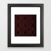 Vadermask Framed Art Print