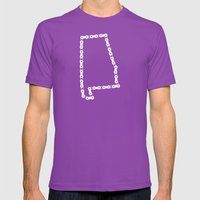 Ride Statewide - Alabama Mens Fitted Tee Ultraviolet SMALL