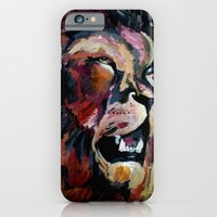 iPhone & iPod Case featuring Friendly Lion by Eternal
