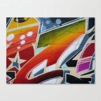 Graffit Canvas Print