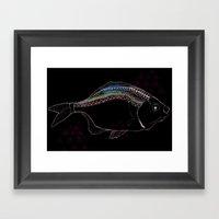 The Catch Framed Art Print