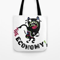 Bad Economy Tote Bag