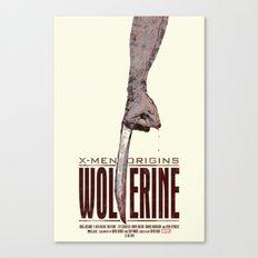 X-Men Origins: Wolverine Canvas Print