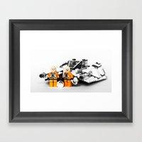 Rebel Fly-boys Framed Art Print