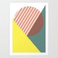 Minimal Complexity V.2 Art Print