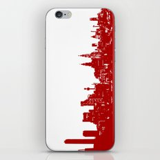 Liverpool city silhouette iPhone & iPod Skin