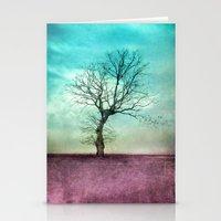 ATMOSPHERIC TREE II Stationery Cards