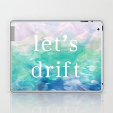 Let's Drift in a Watercolor Laptop & iPad Skin