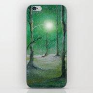 Track 5: Green Winter iPhone & iPod Skin