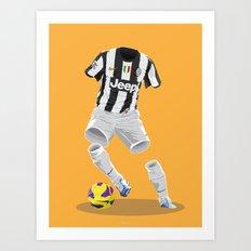 Juventus 2012/13  Art Print