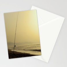 Golden fishing Stationery Cards