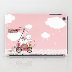 Runs away iPad Case