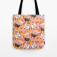 Sushi dance Tote Bag