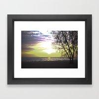 Sunset of Our Minds Framed Art Print