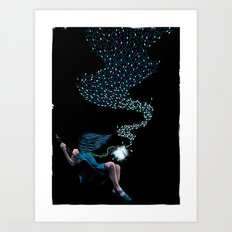 Aurora's Lights Art Print