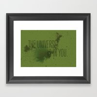 Forged In The Stars Framed Art Print