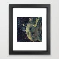 Consumed Framed Art Print