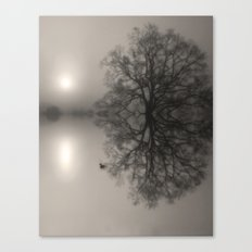 Water Oak Canvas Print