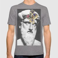 Classoclass Mens Fitted Tee Tri-Grey SMALL