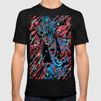 Blood, Matter & Black Holes Mens Fitted Tee Tri-Black SMALL