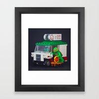 Thieving Twit Framed Art Print