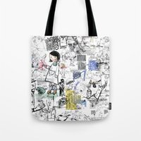 Sketches Tote Bag