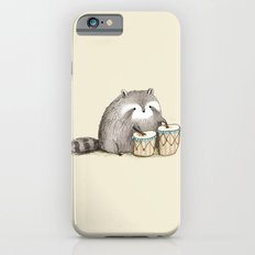 Raccoon on Bongos iPhone 6 Slim Case