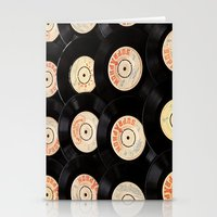 Vinyl Record Stationery Cards