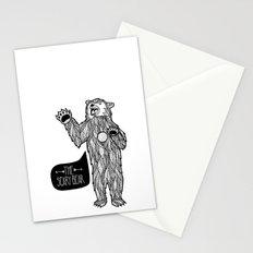 Scary Bear 2 Stationery Cards