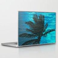 Swimming Palm Laptop & iPad Skin