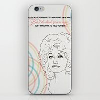 Could I Have Your Autograph iPhone & iPod Skin