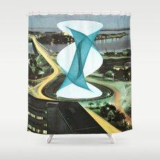 Brave Architecture Shower Curtain