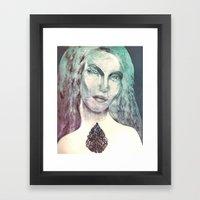 Gravure 01 Framed Art Print