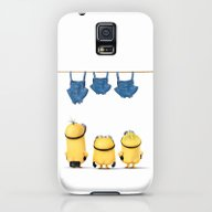 MINIONS LIFE: TOO HOT Galaxy S5 Slim Case