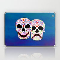 Comedy-Tragedy Colorful … Laptop & iPad Skin