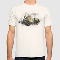 Where Is? Daddy Mens Fitted Tee Natural SMALL