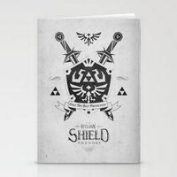 Legend Of Zelda Hylian S… Stationery Cards