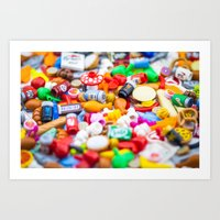 Food Glorious Food Art Print