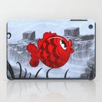 RED & BLUE iPad Case