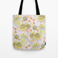 Moderne Chintz Tote Bag