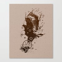 Perfect Target Canvas Print