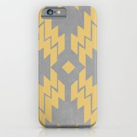 iPhone & iPod Case featuring Concrete & Aztec by no.216