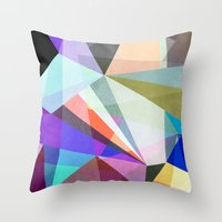 Colorflash 3 A Throw Pillow