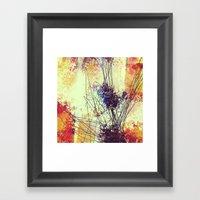 Slow Burn II Framed Art Print