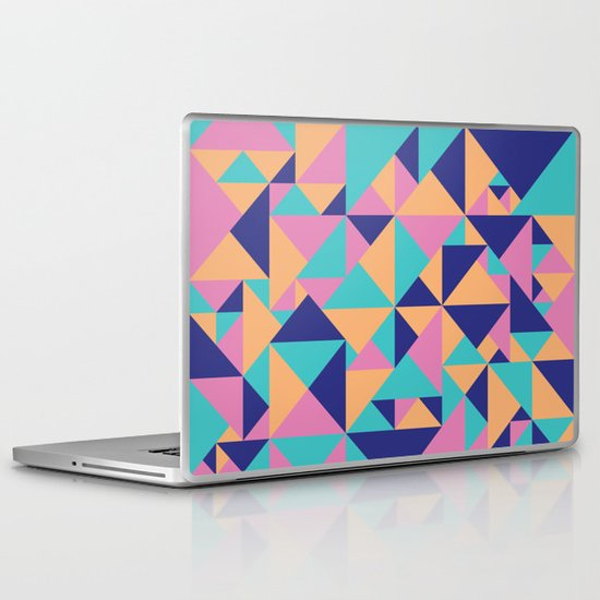 Triangular Laptop & iPad Skin