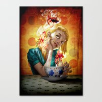 A cup of gold Canvas Print