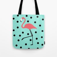 Flamingo Fever Tote Bag