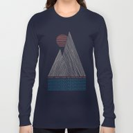 Long Sleeve T-shirt featuring Nothing More by Wesley Bird