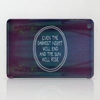 Darkest Night iPad Case